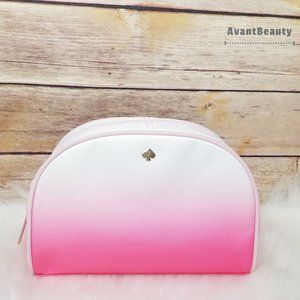 NWT Kate Spade Medium Dome Pink Cosmetic Case Bag